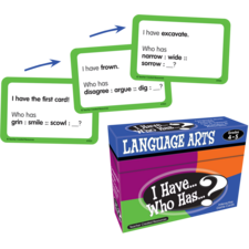 I Have, Who Has Language Arts Game Grade 4-5