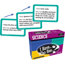 I Have, Who Has Science Game Grade 3-4