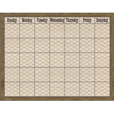 Home Sweet Classroom Chicken Wire Calendar Chart