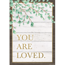 You Are Loved Positive Poster
