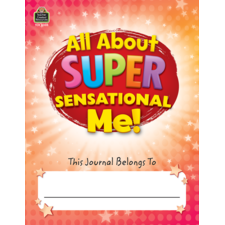 All About Super-Sensational Me! Journal Grades 2-3