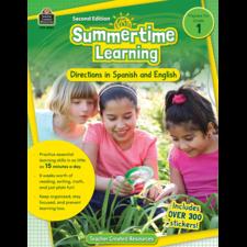 Summertime Learning Grade 1 - Spanish Directions
