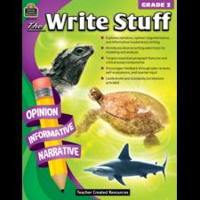The Write Stuff Grade 3