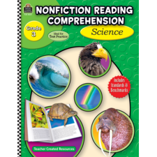 Nonfiction Reading Comprehension: Science, Grade 3