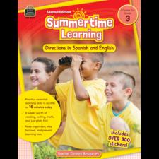 Summertime Learning Grade 3 - Spanish Directions