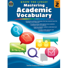 Know the Lingo! Mastering Academic Vocabulary Grade 2