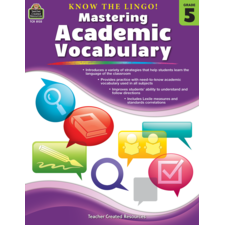 Know the Lingo! Mastering Academic Vocabulary Grade 5