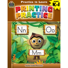 Practice to Learn: Printing Practice Grades K-1
