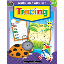 Tracing Write-On Wipe-Off Book