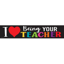 I Love Being Your Teacher Banner