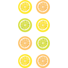 Lemon Zest Mini Stickers