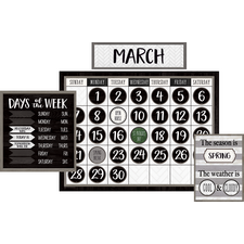 Modern Farmhouse Calendar Bulletin Board
