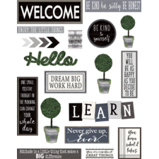 Modern Farmhouse Wall Decor Bulletin Board