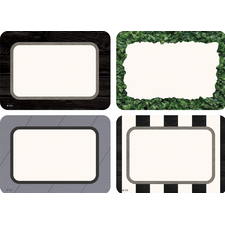 Modern Farmhouse Name Tags/Labels - Multi-Pack