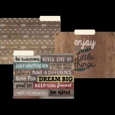 Farmhouse Chic File Folders