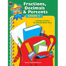 Fractions, Decimals & Percents Grade 4