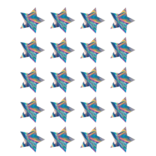 Iridescent Stars Stickers