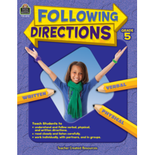 Following Directions Grade 5