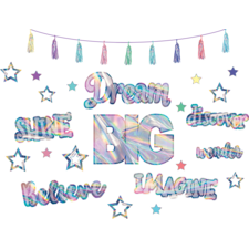 Iridescent Dream Big Bulletin Board Display