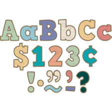 "Painted Wood Bold Block 4"" Letters Combo Pack"
