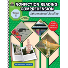 Nonfiction Reading Comprehension: Informational Reading, Grade 3