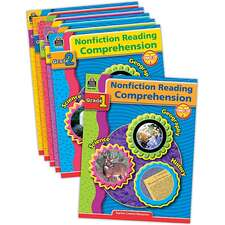 Nonfiction Reading Comprehension Set (6 books)
