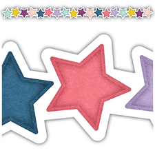 Oh Happy Day Stars Die-Cut Border Trim