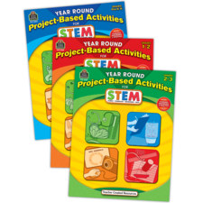 Year Round Project-Based Activities for STEM Set (3 bks)
