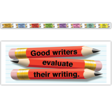 What Good Writers Do Border Trim