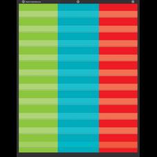3-Column Pocket Chart
