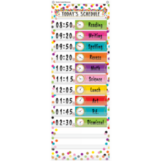 Confetti 14 Pocket Daily Schedule Pocket Chart