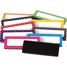 Polka Dots Magnetic Labels