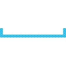 Aqua Chevron Magnetic Pockets - Large