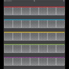 Black Polka Dots Storage Pocket Chart