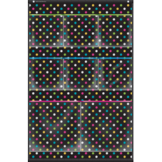 Chalkboard Brights 8 Pocket Small Storage Pocket Chart