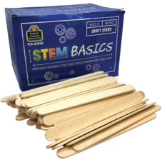 STEM Basics: Craft Sticks - 500 Count