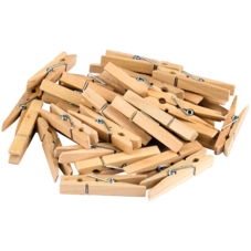 STEM Basics: Medium Clothespins - 50 Count
