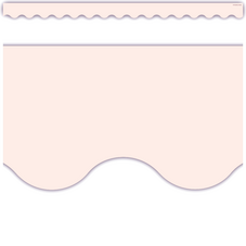 Blush Scalloped Border Trim