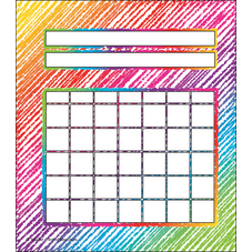 Colorful Scribble Incentive Charts