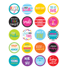 Colorful Words to Inspire Planner Stickers
