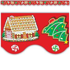 Christmas Scalloped Border Trim