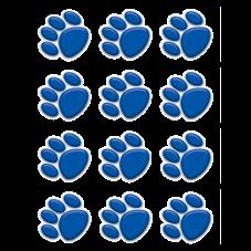 Blue Paw Prints Mini Accents