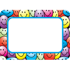 Happy Faces Name Tags/Labels