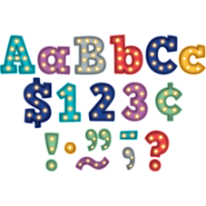 """Marquee Bold Block 4"""" Letters Combo Pack"""