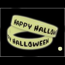 Happy Halloween Glow-in-the-Dark Wristbands 10-Pack