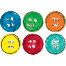 """Spot On Carpet Markers Pete the Cat Groovy Buttons - 4"""""""