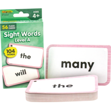 Sight Words Flash Cards - Level A