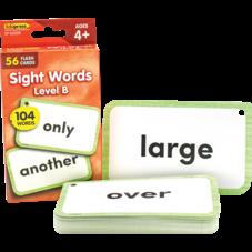 Sight Words Flash Cards - Level B