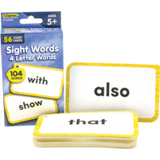 Sight Words Flash Cards - 4 Letter Words