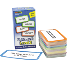 Sight Words Flash Cards - Level 2